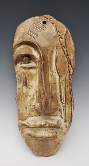 Stoneware face