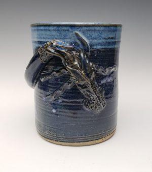 Dragon utensil jar