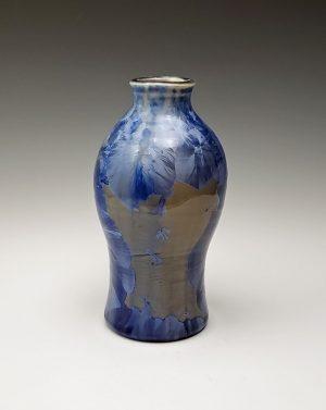 Crystalline vase